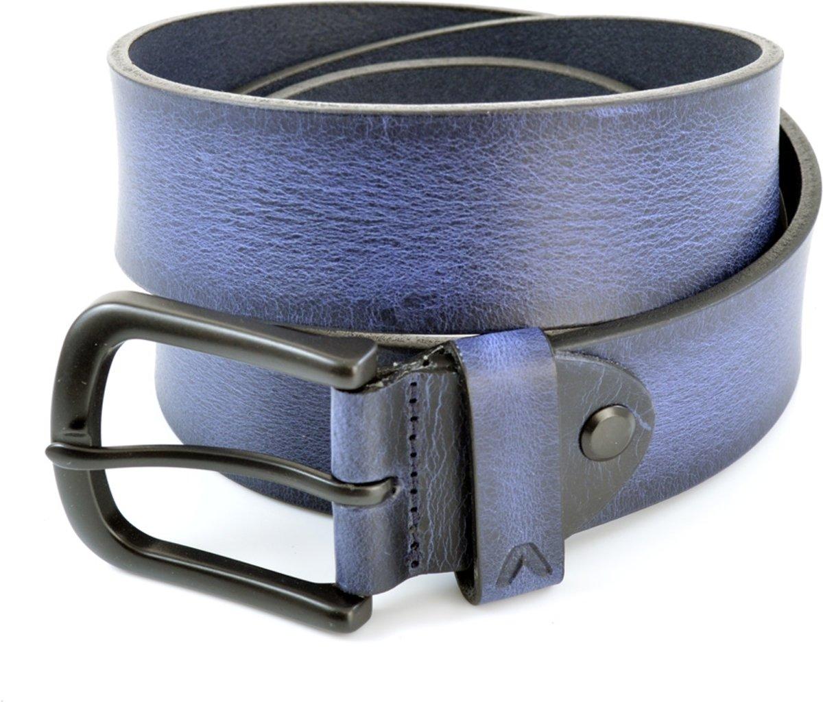 Alberto Herenriem Jeans 4801 - Blauw - 85 cm