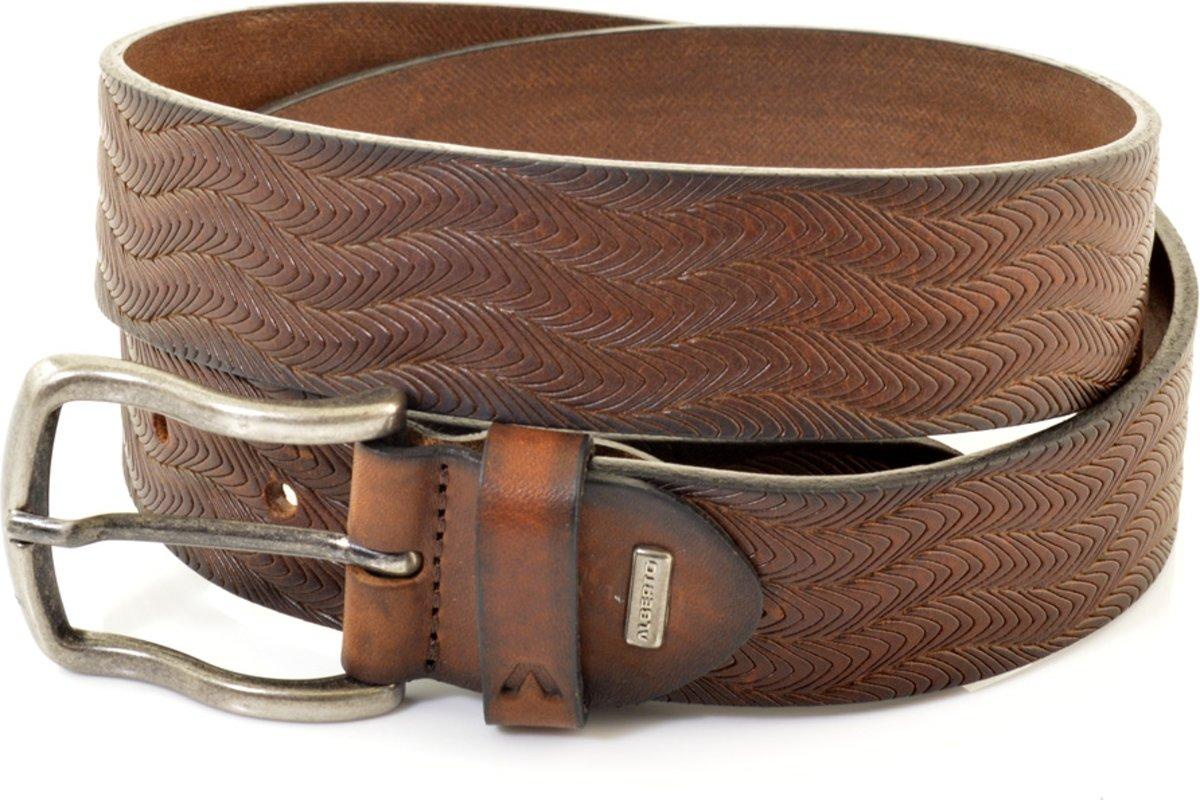 Alberto Herenriem Jeans 8812 - Cognac - 105 cm