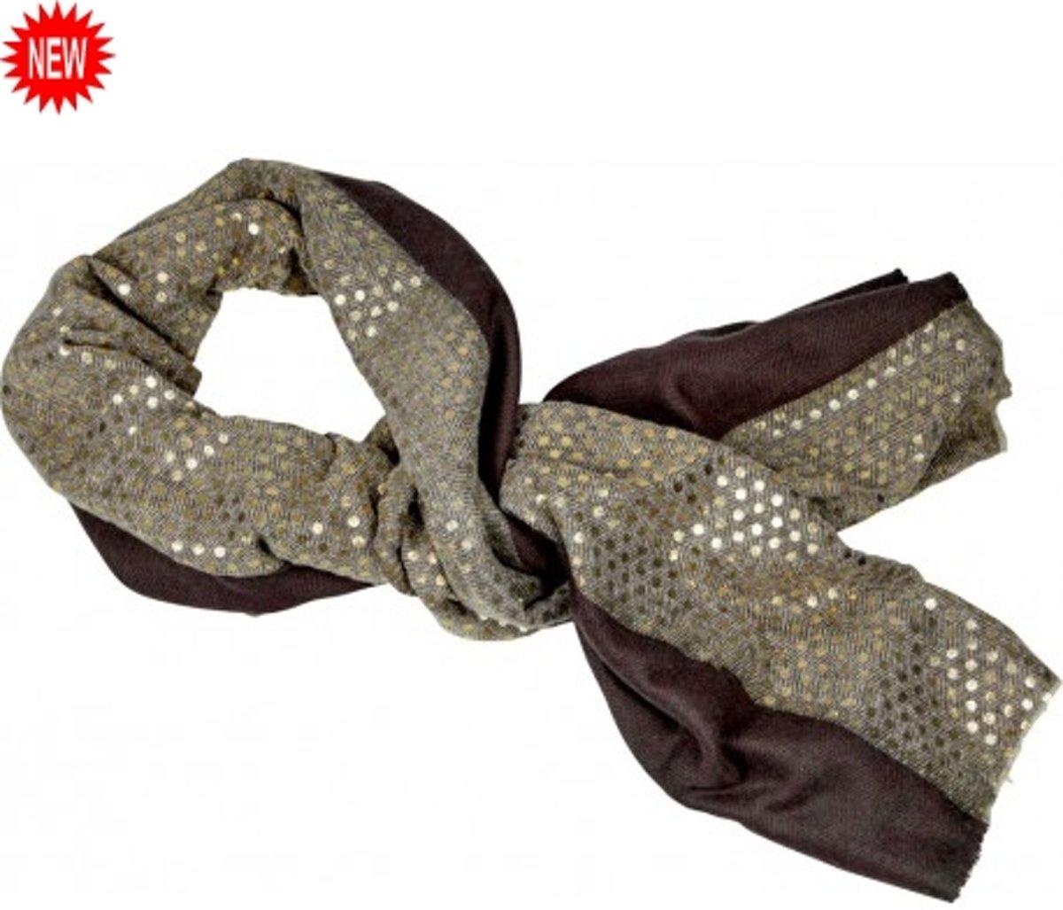 Grote luxe Sjaal - Lieblingsstucke Goldene - Topkwaliteit - Wol - Spiegelburg