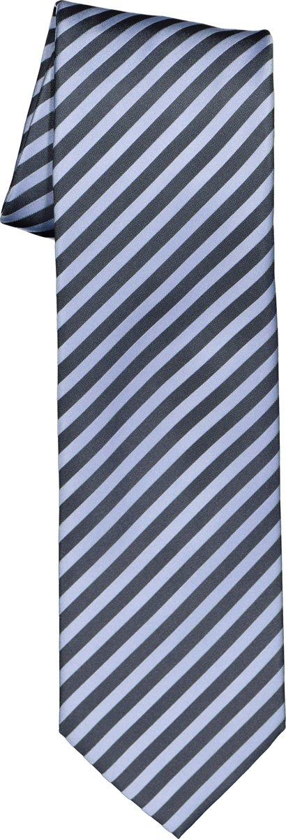 OLYMP stropdas - blauw-lichtblauw gestreept