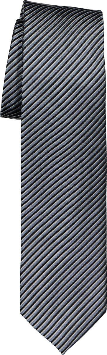 OLYMP stropdas - grijs gestreept