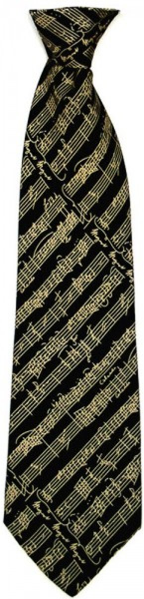 Zijden stropdas Mozart