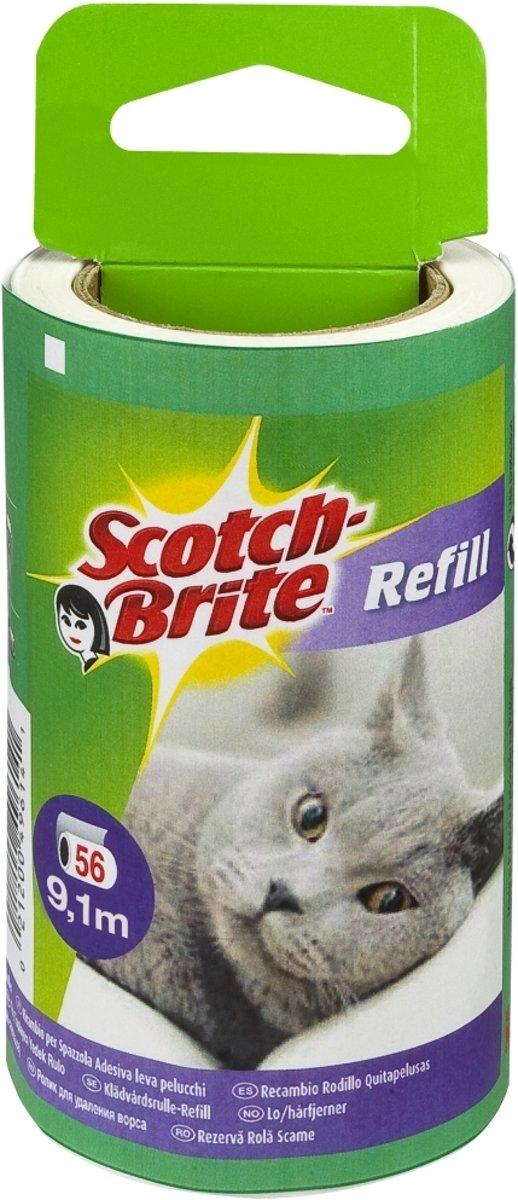 Scotch-Brite? Pluizenkleefrol navulling, 30 vellen (4.5 m) 1/verpakking