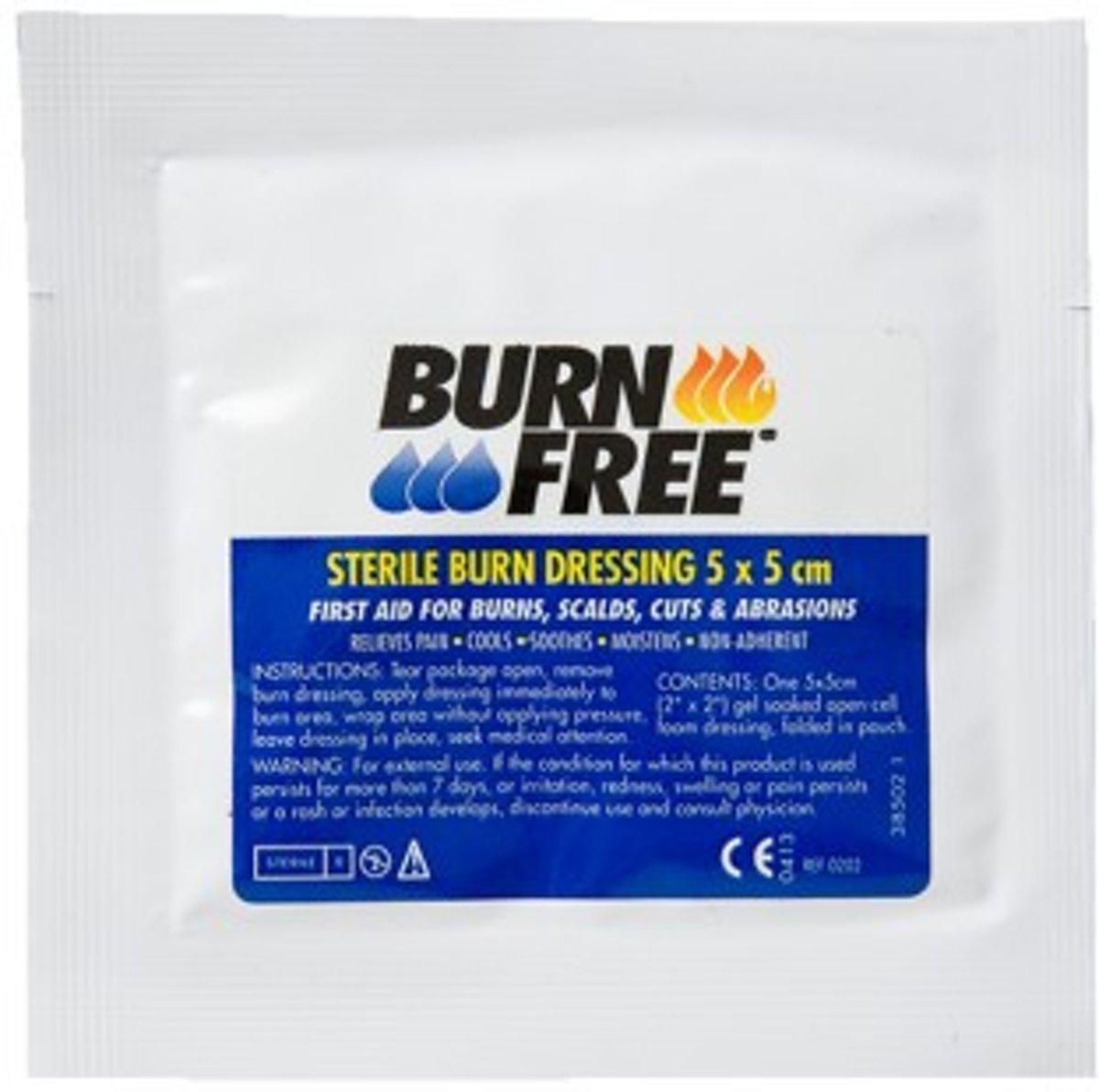 Burnfree Burn Dressing 5x5 Cm (1st)