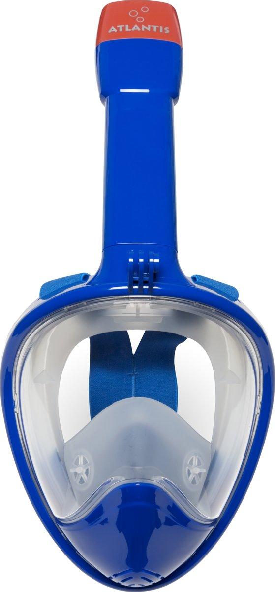 Atlantis 2.0 Full Face Mask - Snorkelmasker - S/M - Oceaan Blauw