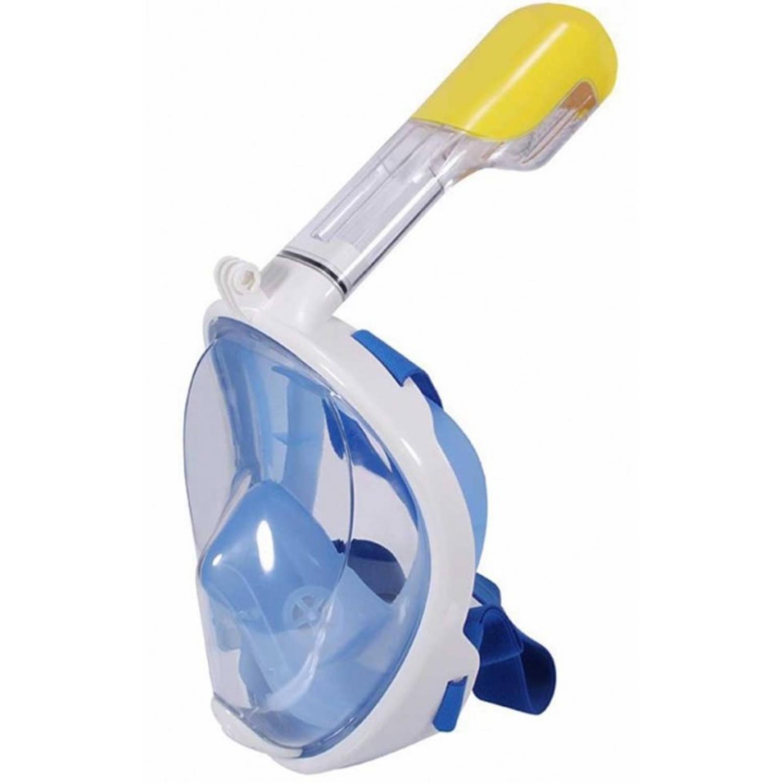 Duikmasker Full Face Blue Duikbril Blauw S / M