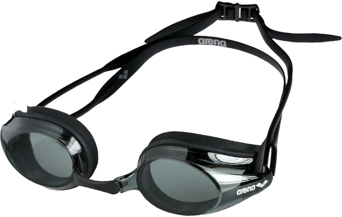 Arena Tracks smoke black Zwembril - zwart