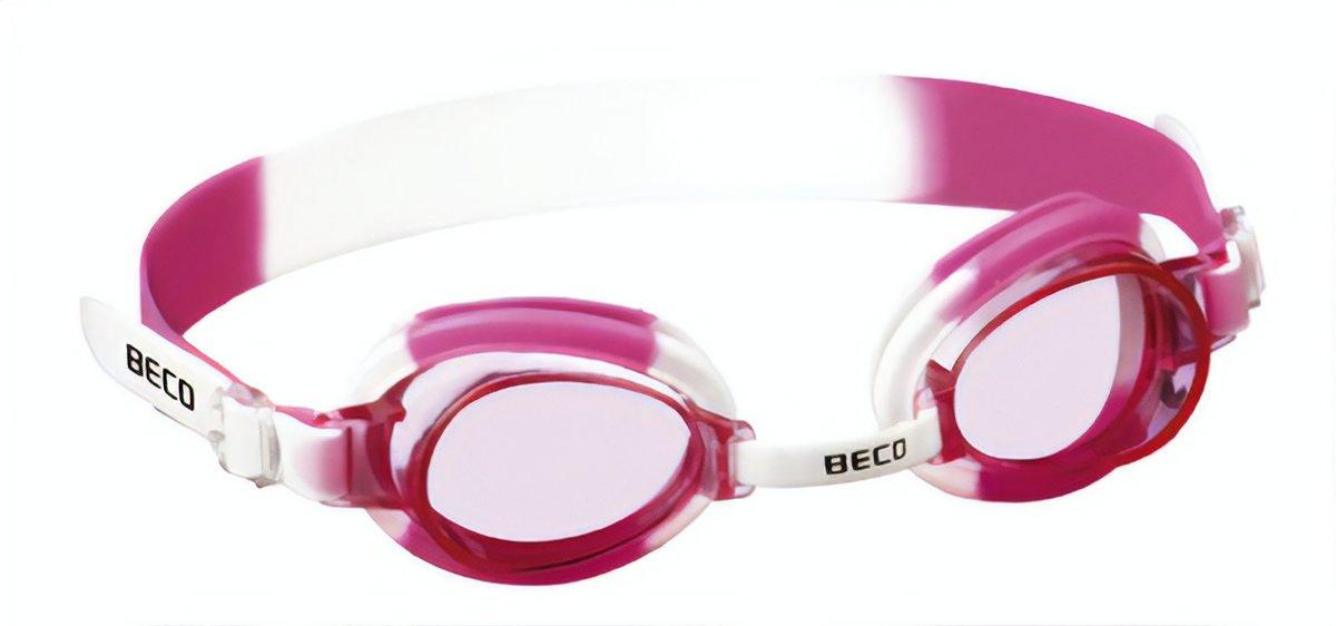 Zwembril HALIFAX white-pink