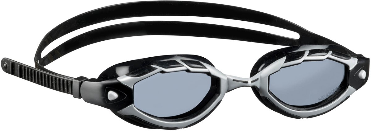 BECO zwembril Monterey - Polarised - Competition - grijs/zwart