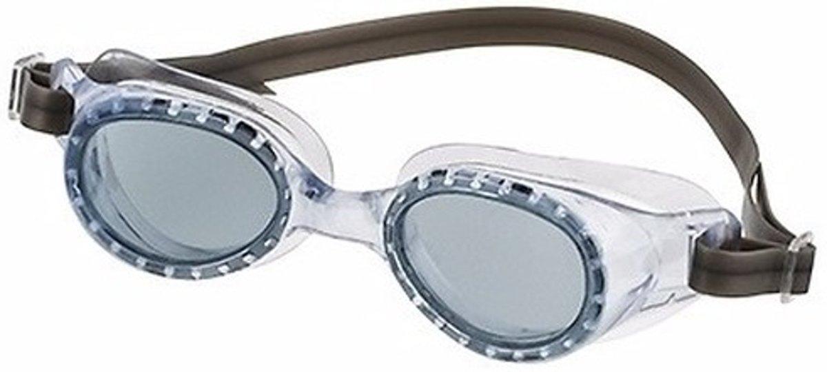 Zwembril met UV bescherming voor kinderen donkergroen