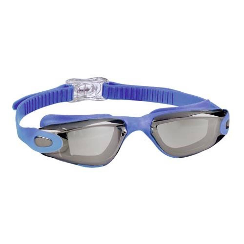 Beco Zwembril Santos Unisex Siliconen/polycarbonaat Blauw