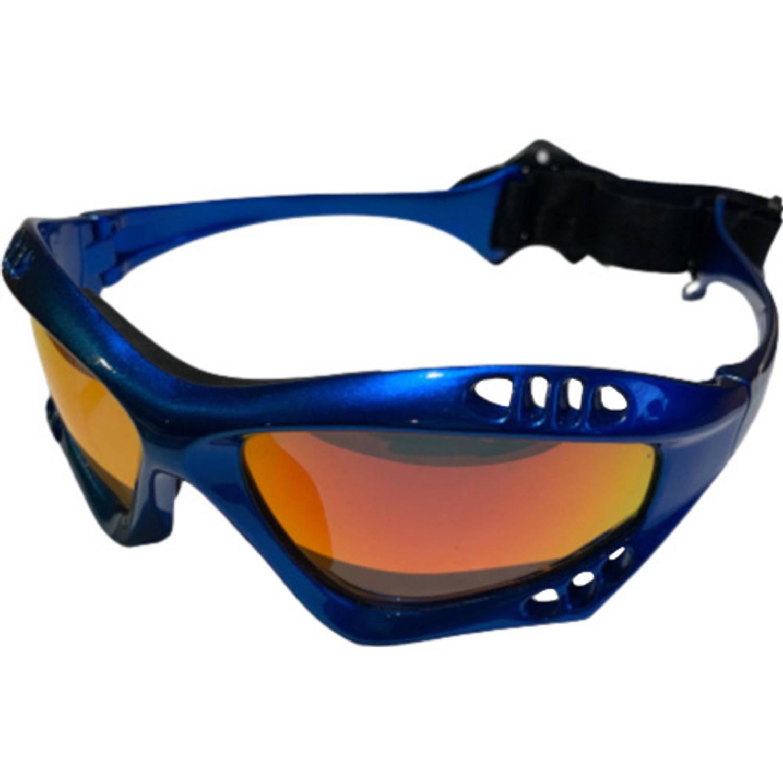Glogglz Zwembril Finz Polycarbonaat Blauw/oranje One-size