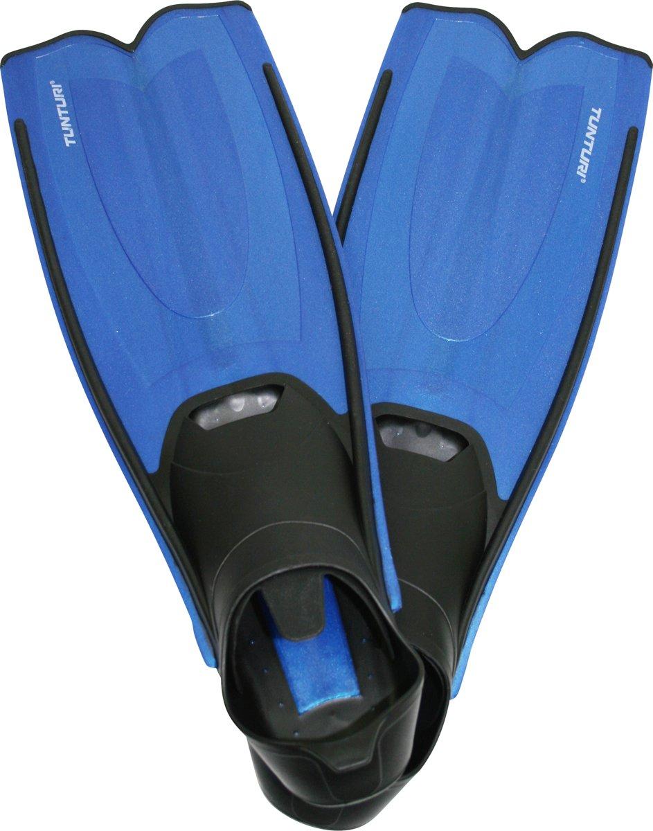 Tunturi Flipper - Zwemvliezen - Zwemvinnen - Zwemflippers - 36-37 - Zwart/Blauw