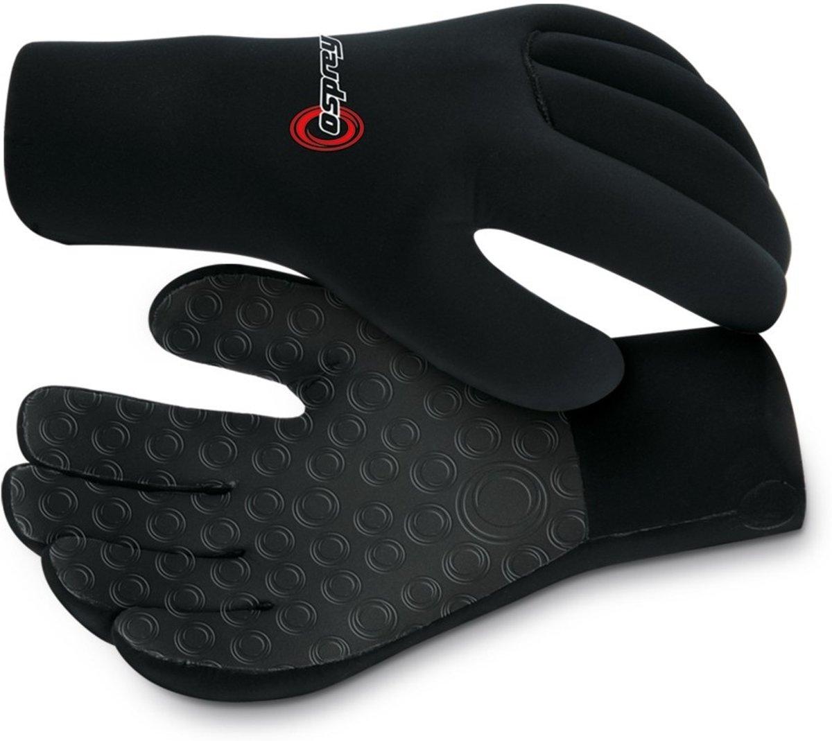 Osprey Wetsuit Handschoenen Zwart 3 Mm Maat 20 Cm