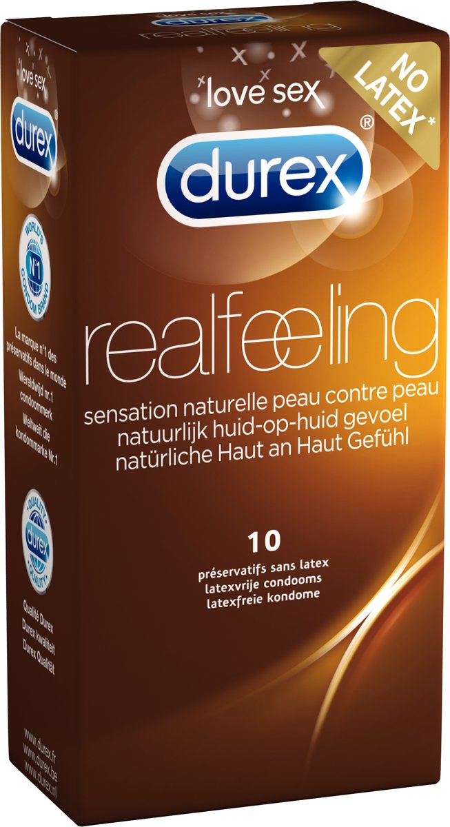 Durex Real Feeling Latexvrij (10st)