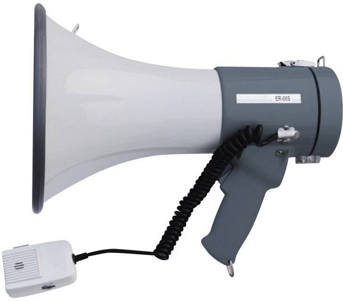 SpeaKa Professional ER-66S Megafoon Met handmicrofoon, Met draagriem, Met geluiden
