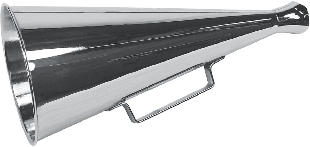 Megafoon Roeptoeter- H: 34 cm x ? 4/15cm