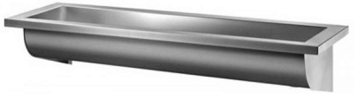 RVS Wasgoot 1400 x 400 x 180 mm