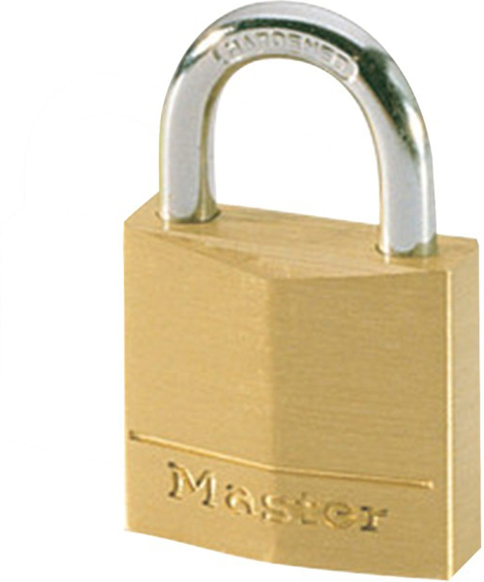 MasterLock 130EURD - Hangslot - Massief Koper - 30 mm
