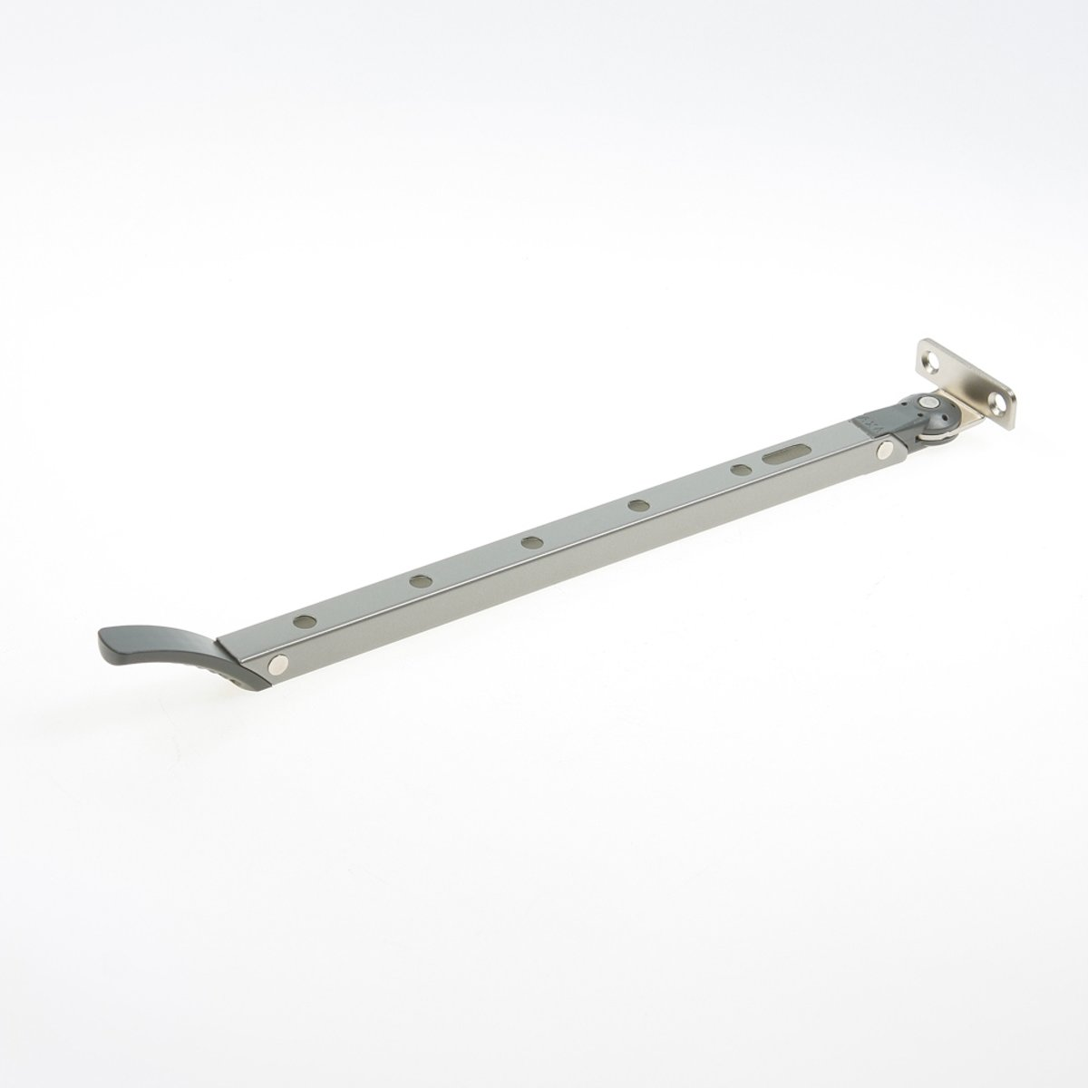 Axa Raamuitzetter Habilis lengte 355mm buitendraaiend grijs voor draairaam smal kozijnhout 2635-31-49 (Prijs per 2 stuks)