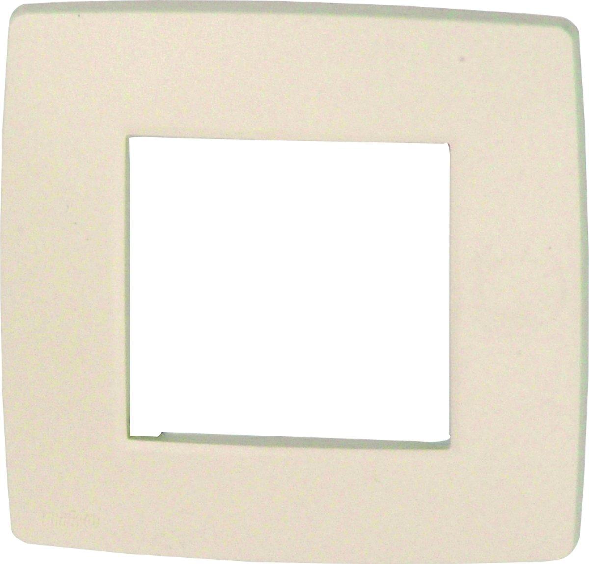 NIKO Original Cream afdekplaat - enkelvoudig - 10 stuks