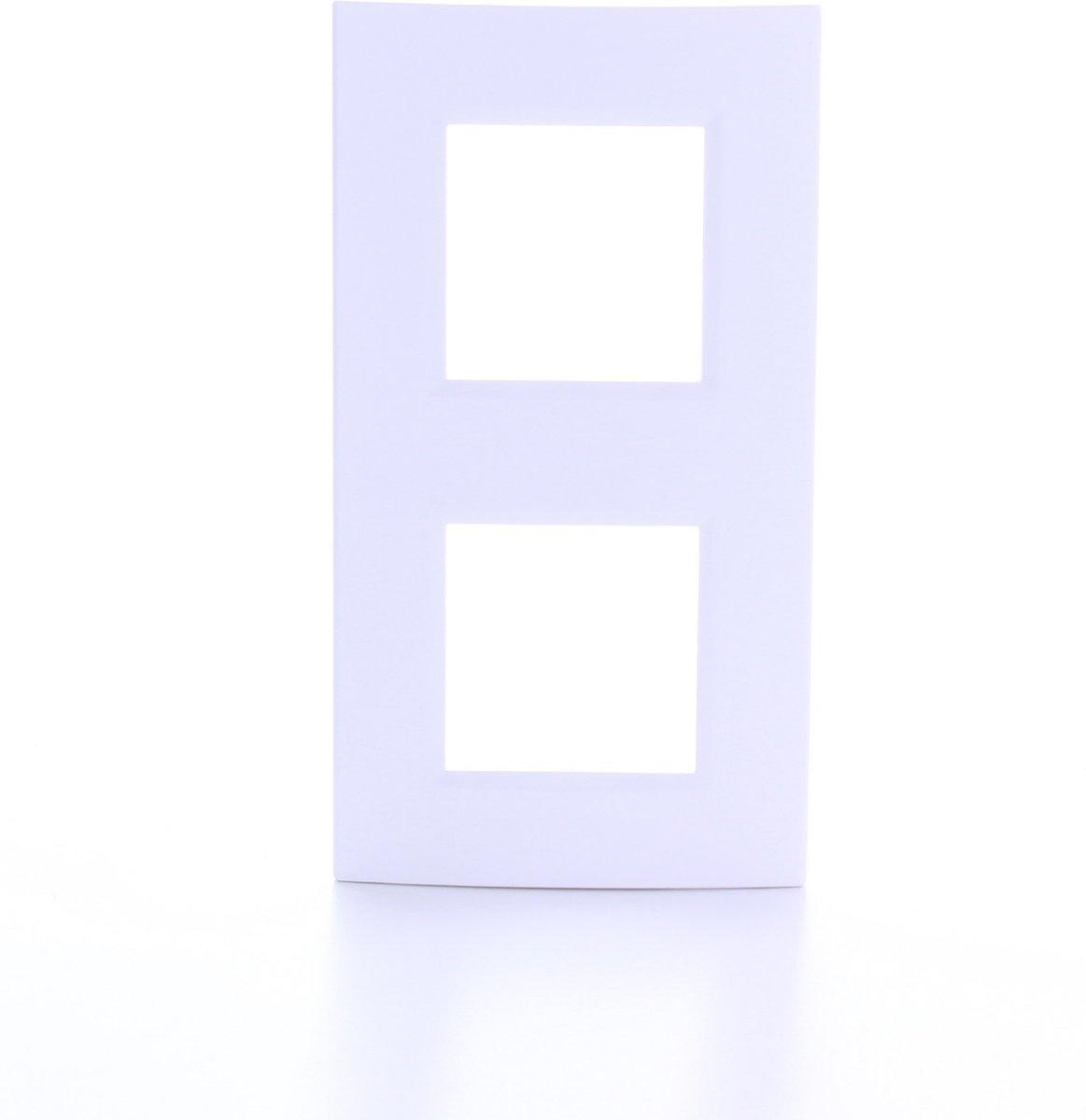 BTICINO Living Light - afdekplaat - 2V - verticaal/horizontaal - wit