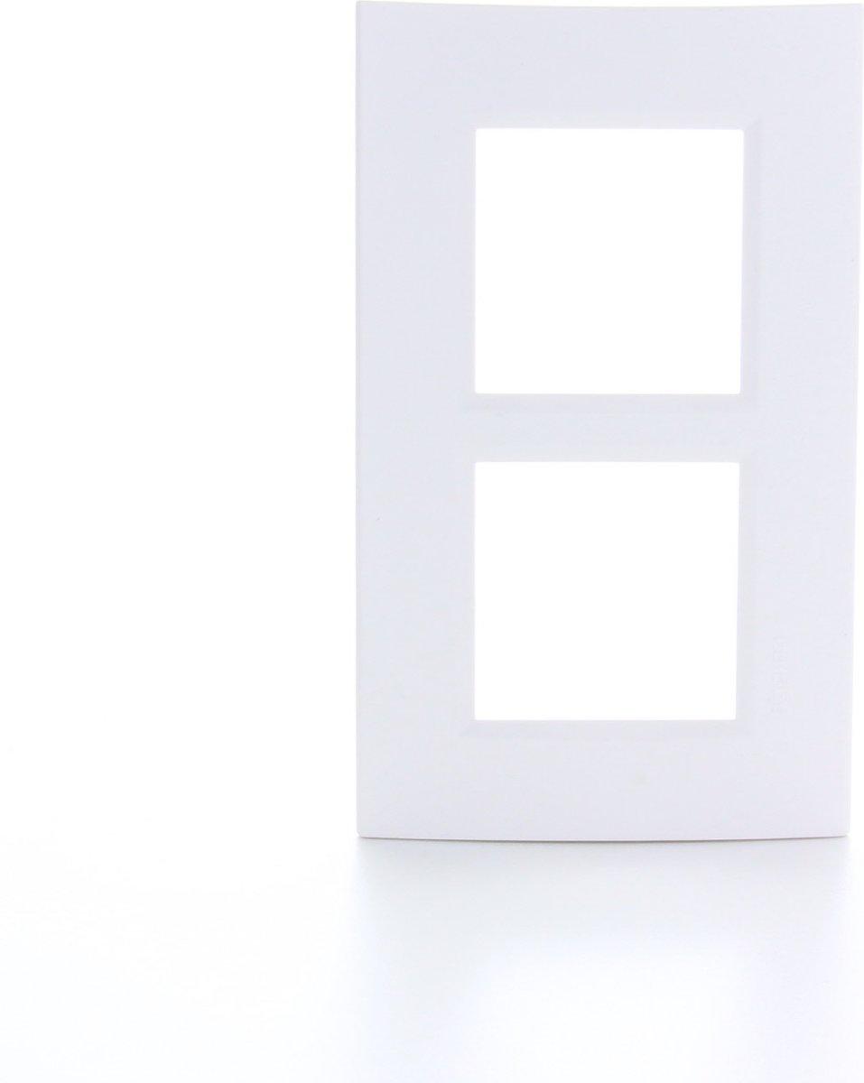 BTICINO Living Light - afdekplaat - 2V - verticaal - wit