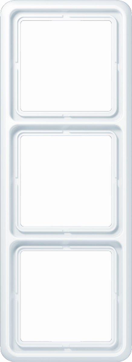 JUNG CD500 series | 3-voudig afdekraam | wit
