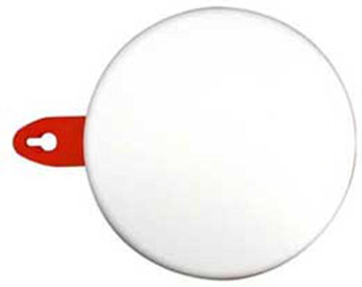 Elektrofix plafondplaat rond wit