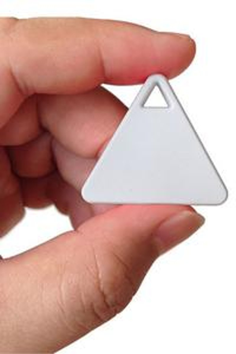GPS tracker - mini itag - bluetooth 4.0 - spullen terugvinden - locator - Wit