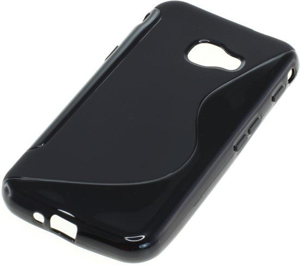 TPU Case Samsung Galaxy Xcover 4 G930 - Zwart S-Curve