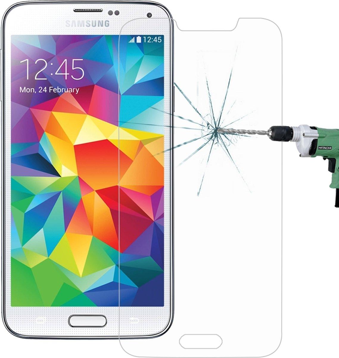 Let op type!! Samsung Galaxy S5 Gehard glazen schermprotector 0.26mm 9H+ ultra 2.5D hardheid
