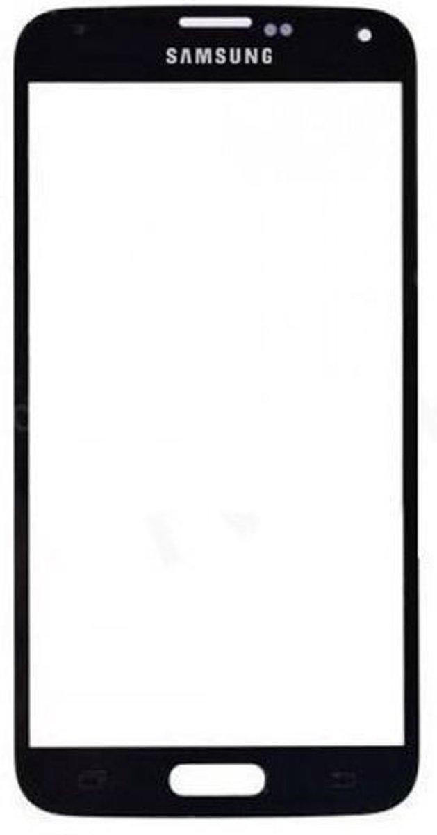 Glasplaat scherm geschikt voor Samsung Galaxy S5 - zwart