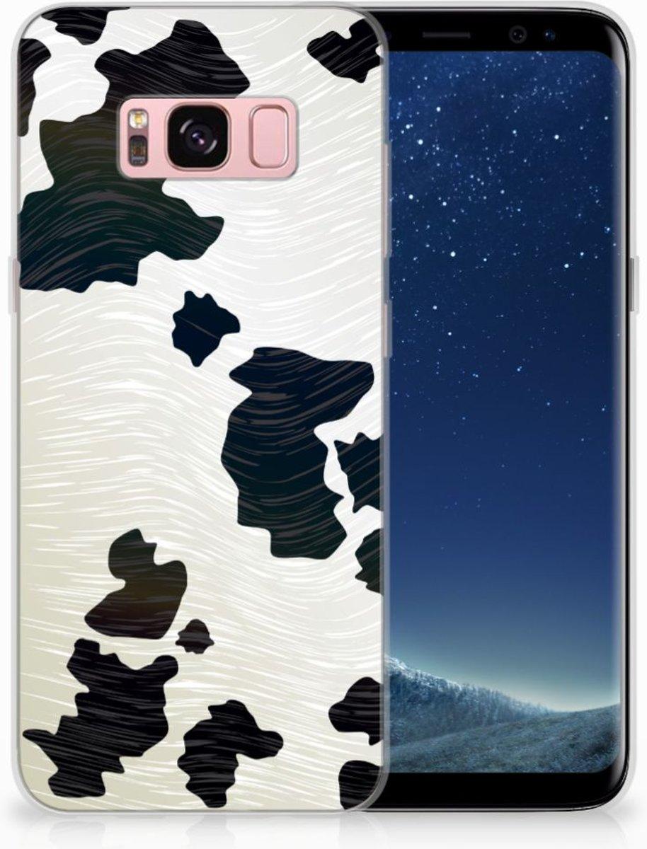 Samsung Galaxy S8 Uniek TPU Hoesje Koeienvlekken