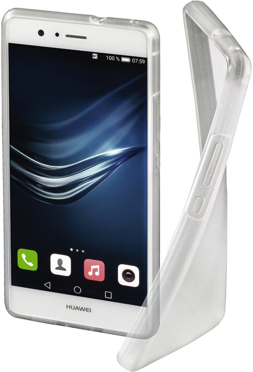Hama Crystal GSM backcover Geschikt voor model (GSMs): Huawei P9 Lite Transparant