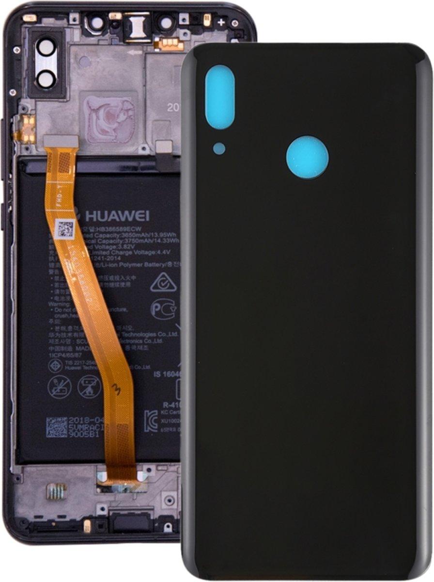 Achterste schutblad (origineel) voor Huawei Nova 3(Black)