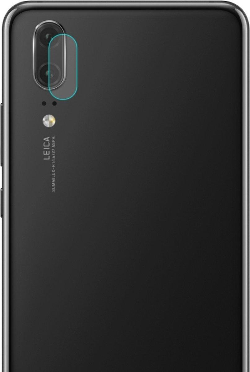 Let op type!! ENKAY Hat-Prins 0.2mm 9H 2.15D achterzijde cameralens getemperd glas Film voor Huawei P20