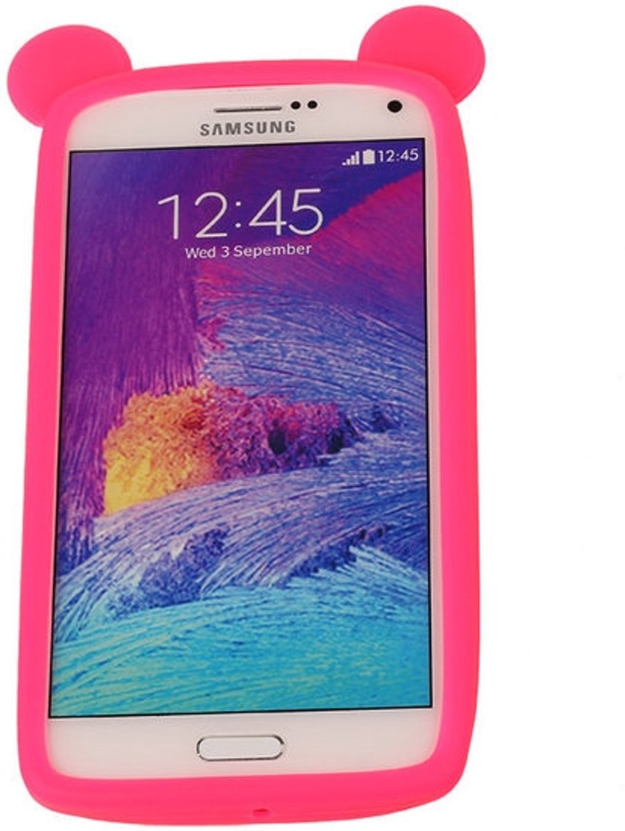 Roze Bumper Beer Small Frame Case Hoesje voor Huawei Y360