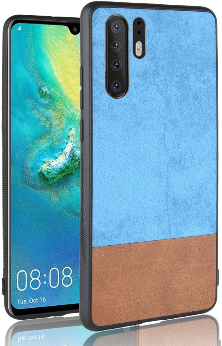 Mobigear Color Matching Hoesje Blauw Huawei P30 Pro
