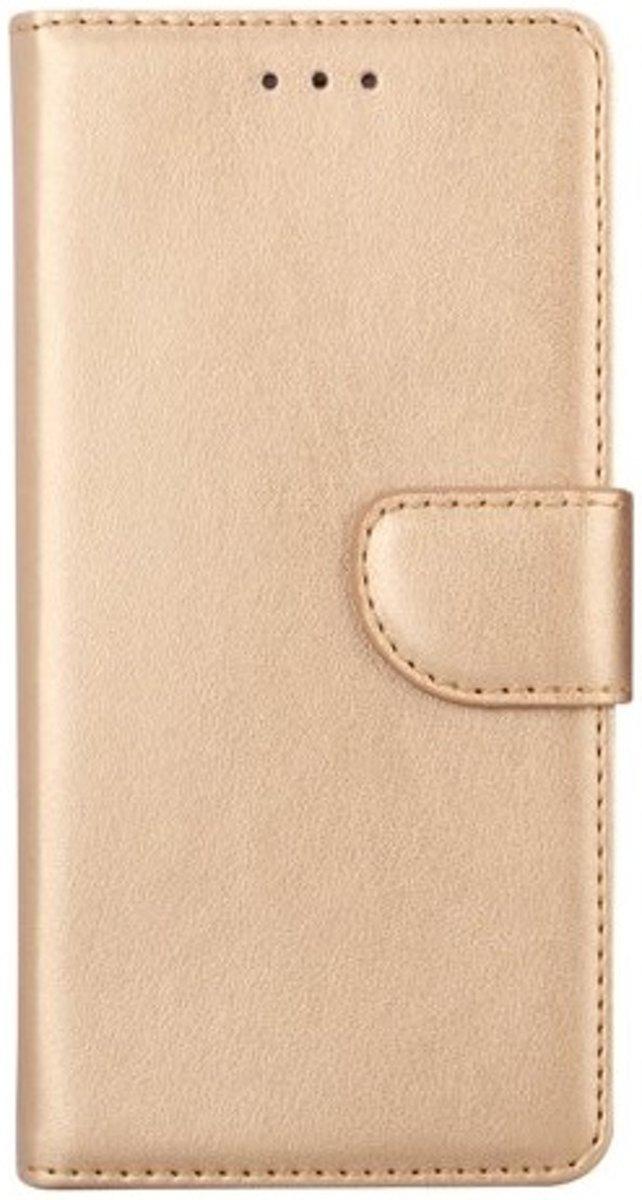 Huawei P20 Lite - Bookcase Goud - portemonee hoesje
