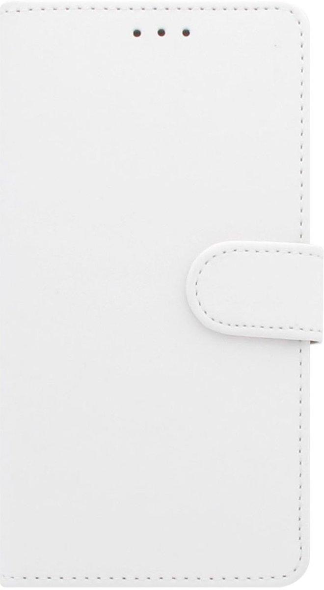 Apple iPhone Xs Max Telefoonhoesje Wit met Pasjeshouder