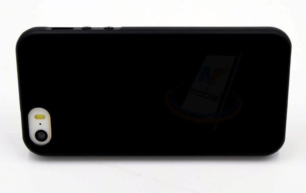 Backcover voor Apple iPhone 5 - Zwart