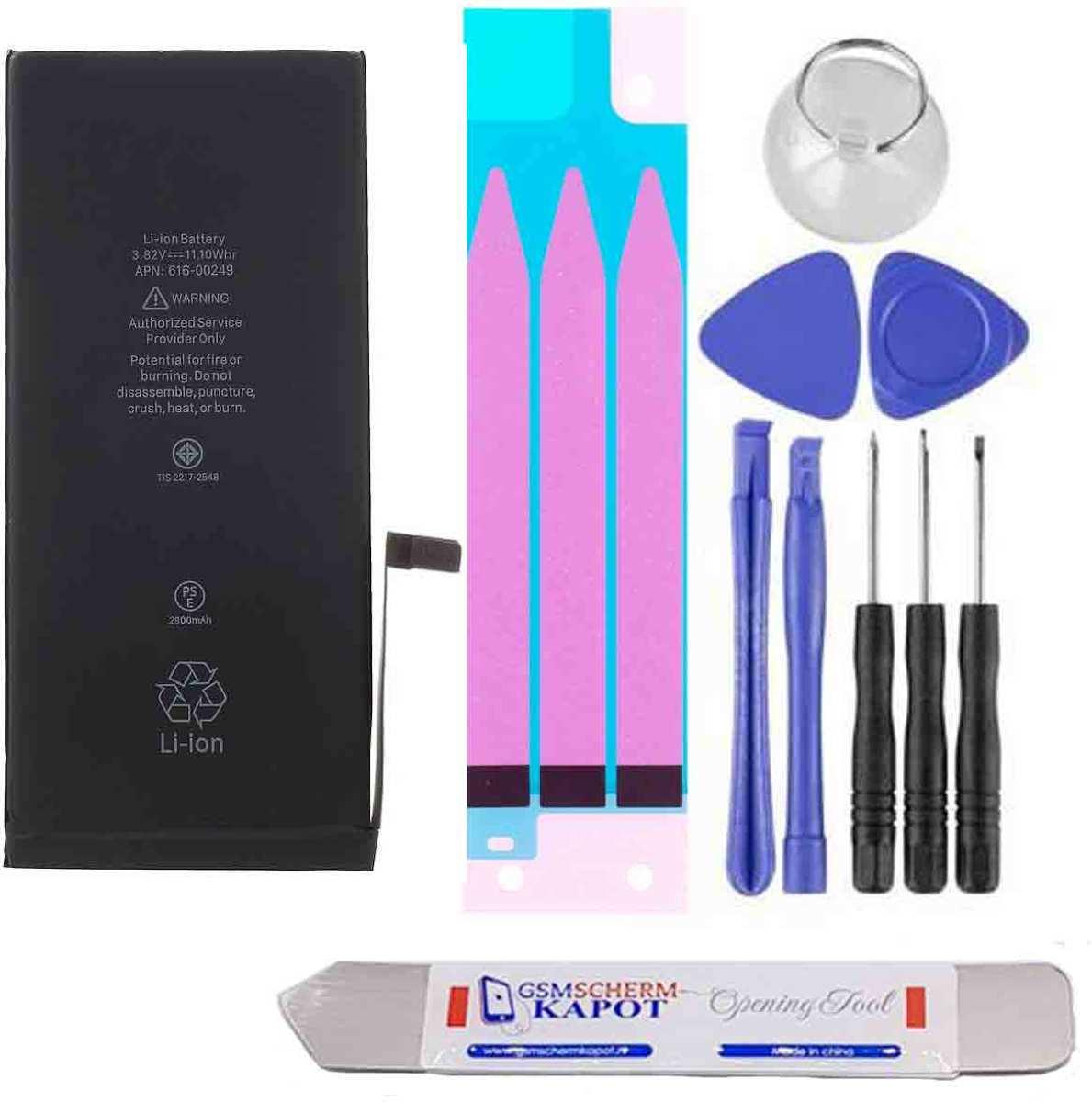 Voor iPhone 7 PLUS  batterij reparatie kit + USB Charger Doctor