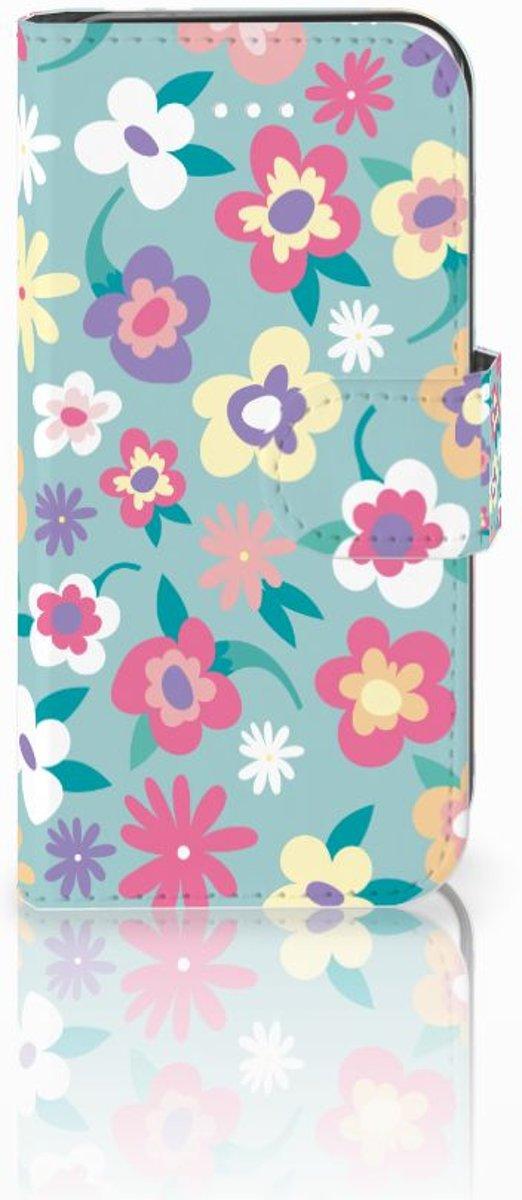 Apple iPhone 5 | 5s | SE Boekhoesje Design Flower Power
