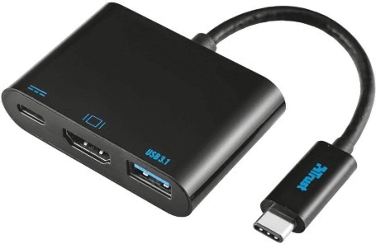 Trust USB Type-C Multipoort Adapter