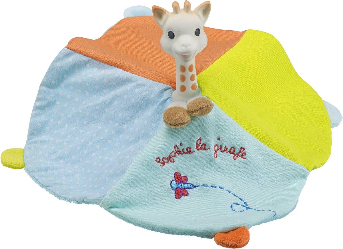 Sophie de Giraf - bijtring en knuffeldoekje - 2 in 1