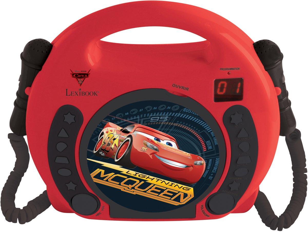 Disney Cars CD player with mics
