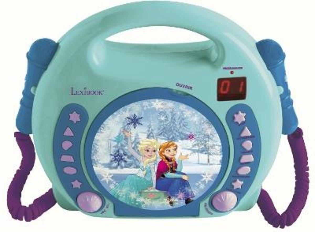 Lexibook - Frozen - cd-speler Portable CD player - Turkoois