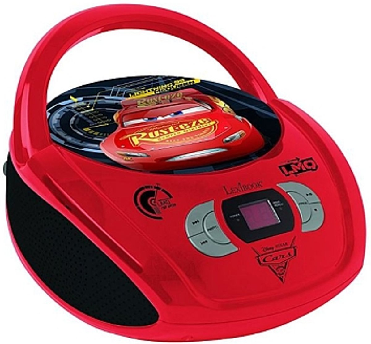 Lexibook Disney Cars - Radio CD player - Rood