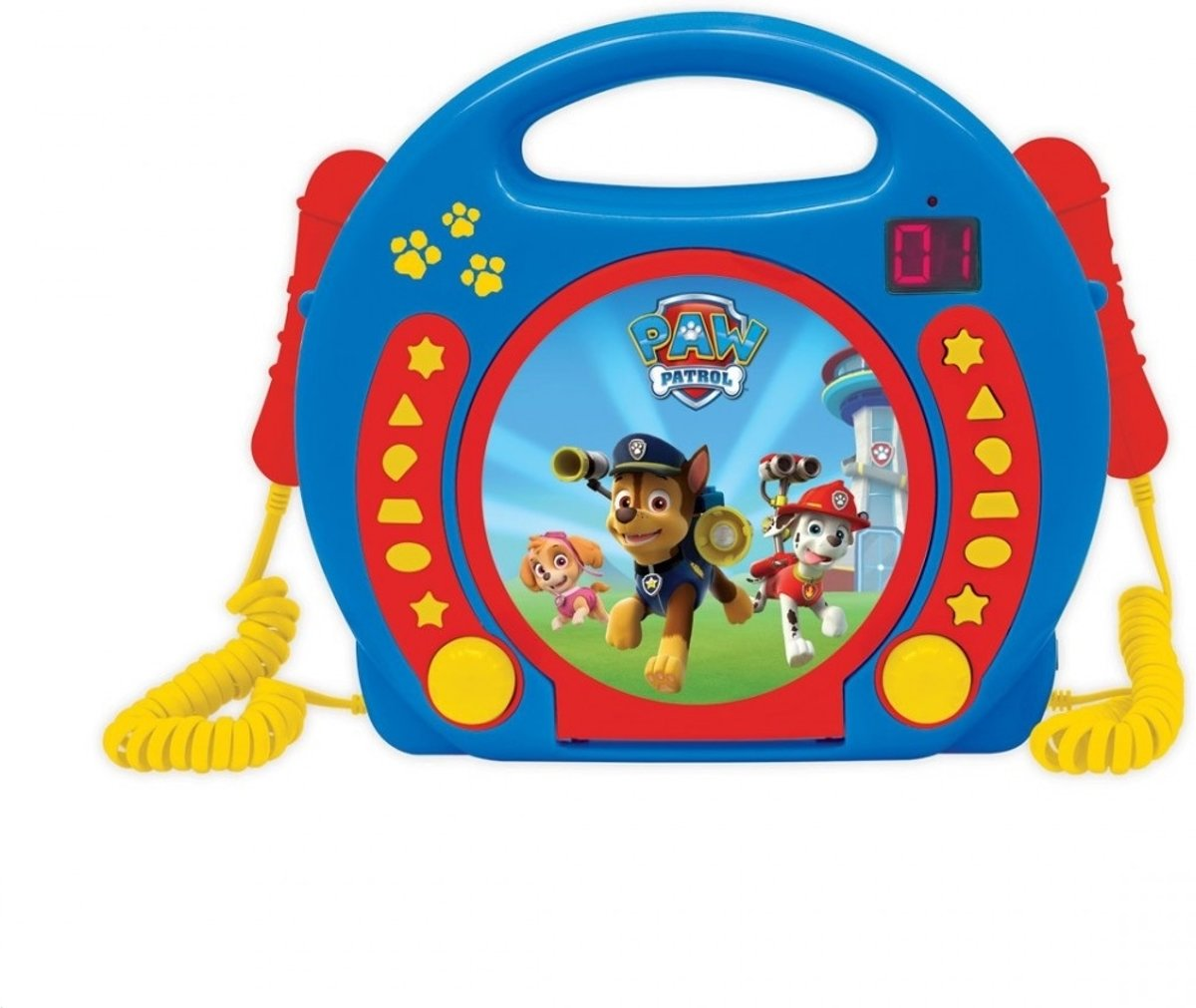 Lexibook - Paw Patrol - CD player with microphones